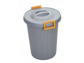 Odpadkový koš na tříděný odpad 25 litrů, žlutá