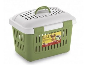 prepravka pro psy kocky i jina zvirata do 5 kg midi gulliver zelena