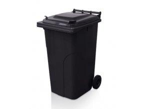 Popelnice 240 litrů černá