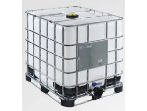 Repasovaný IBC kontejner REKO 1000 l UN, ocelová paleta
