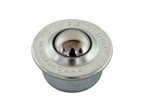 kulickova kladka s prirubou pro nasouvani prumer 15 mm 1650186b