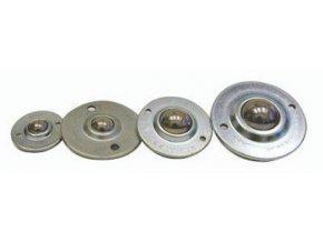 Kladka kuličková, k přišroubování, průměr 15 mm