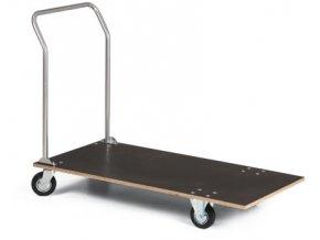 Plošinový vozík, voděodolná překližka, 150 kg