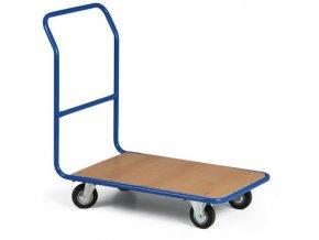 Lehký plošinový vozík, váha jen 23 kg, nosnost 300 kg