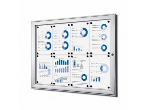 vnitrni vitrina jansen display 8xa4 SCS8xA4
