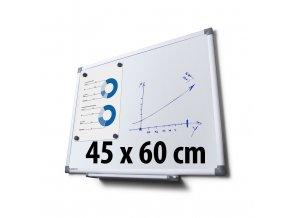Tabule magnetická, 45 x 60 cm