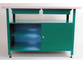 Dílenský stůl ekonomický, typ 1, 80x120x60 cm