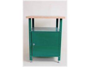Dílenský stůl ekonomický, malý, 80x60x60 cm