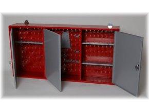 Závěsná skříňka na nářadí, 120x60x20 cm