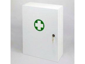 Kovová lékárnička s těsněním proti prachu, bez náplně