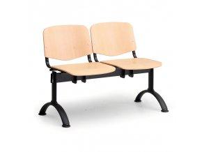 Dřevěná lavice ISO (dvojsedák) II.