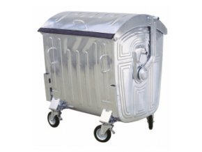 Kontejner kovový 1100 litrů