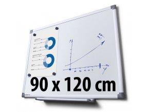 Tabule magnetická, 90 x 120 cm