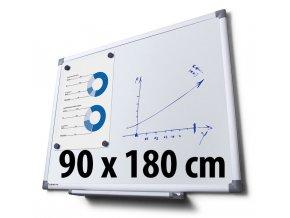 Tabule magnetická, 90 x 180 cm