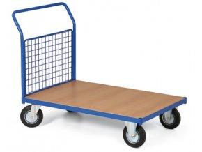 Plošinový vozík, jedno madlo drátěné, 300 kg