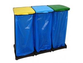levny system na trideni odpadu stojan na pytle trideny odpad skladem