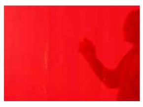 svarovaci zaves transparentni cervenyig