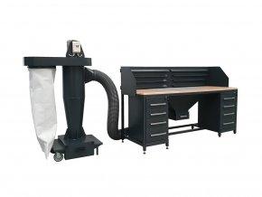 mechanicka filtracni jednotka pro brusny stul b