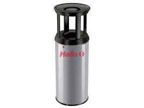 Odpadkový koš s popelníkem Profiline Combi Plus, 50 l,  stříbrný