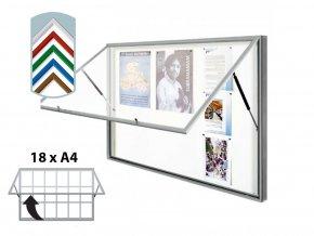 vitrina vitincom classic barevna 18xa4 a
