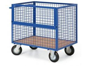 Skříňový vozík drátěný bez víka