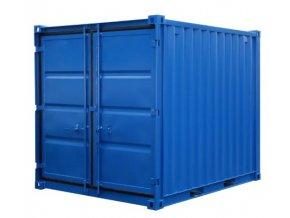 skladovy kontejner 9m3 modry