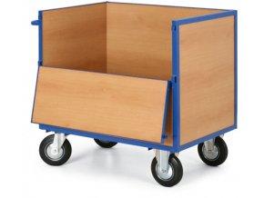Skříňový vozík plný bez víka