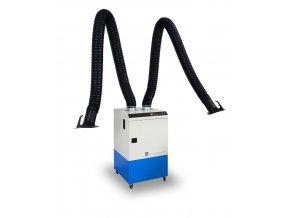 mobilni odsavac splodin pri svarovani dve ramena