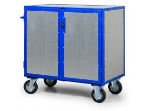 Skříňový vozík plechové stěny střední