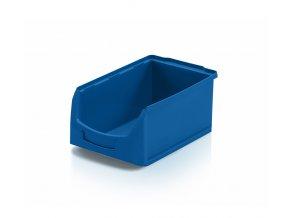 plastovy ulozny box na drobny material tba vetsi modra skladem