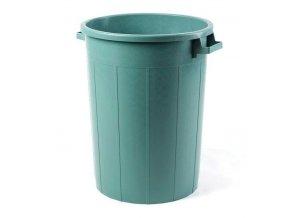 Sud na dešťovou vodu, 120 litrů, zelený