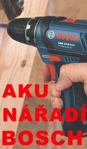 Vybírejte z nabídky AKU nářadí Bosch pro kutily. Nabídka hobby i profi AKU nářadí.