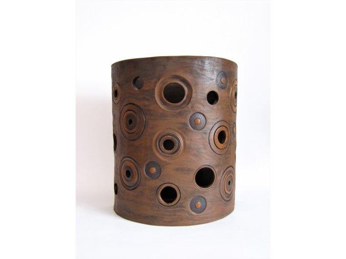 Keramická nástěnná lampa Albertine