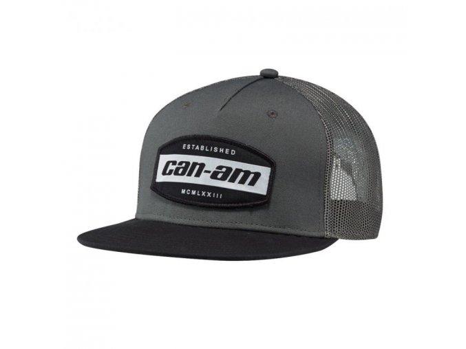 Can Am kšiltovka šedá