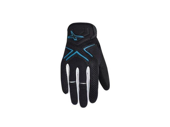 Rukavice X-RACE gloves M blue