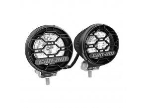 LED světla kulaté 2x 25 W