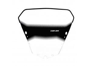 Ochranný štít/plexi DELUXE nízký Can-am Outlander G2