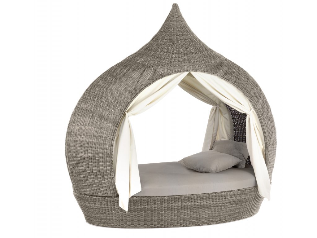 Eye Catcher Double Lounge 2 Open Sides cubu taupe D3 7 sdp winter 0065b