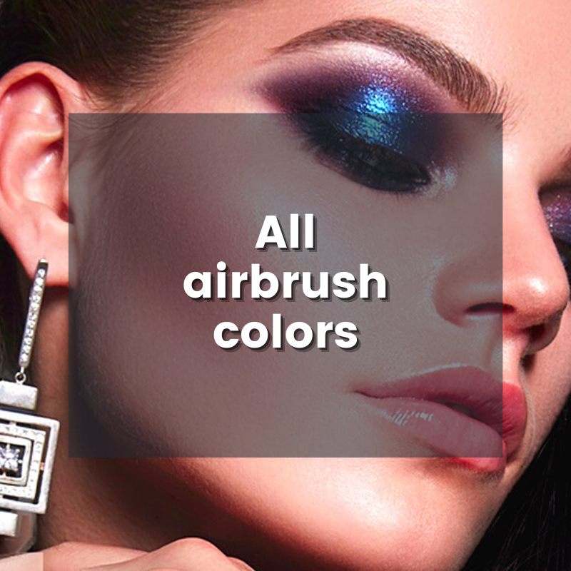 All Dinair airbrush colors