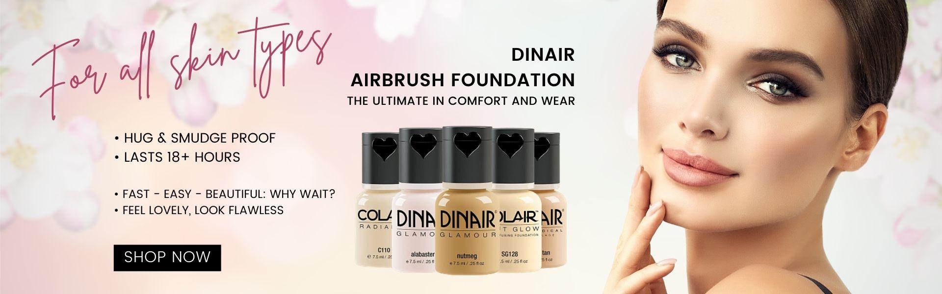 Dinair Foundations