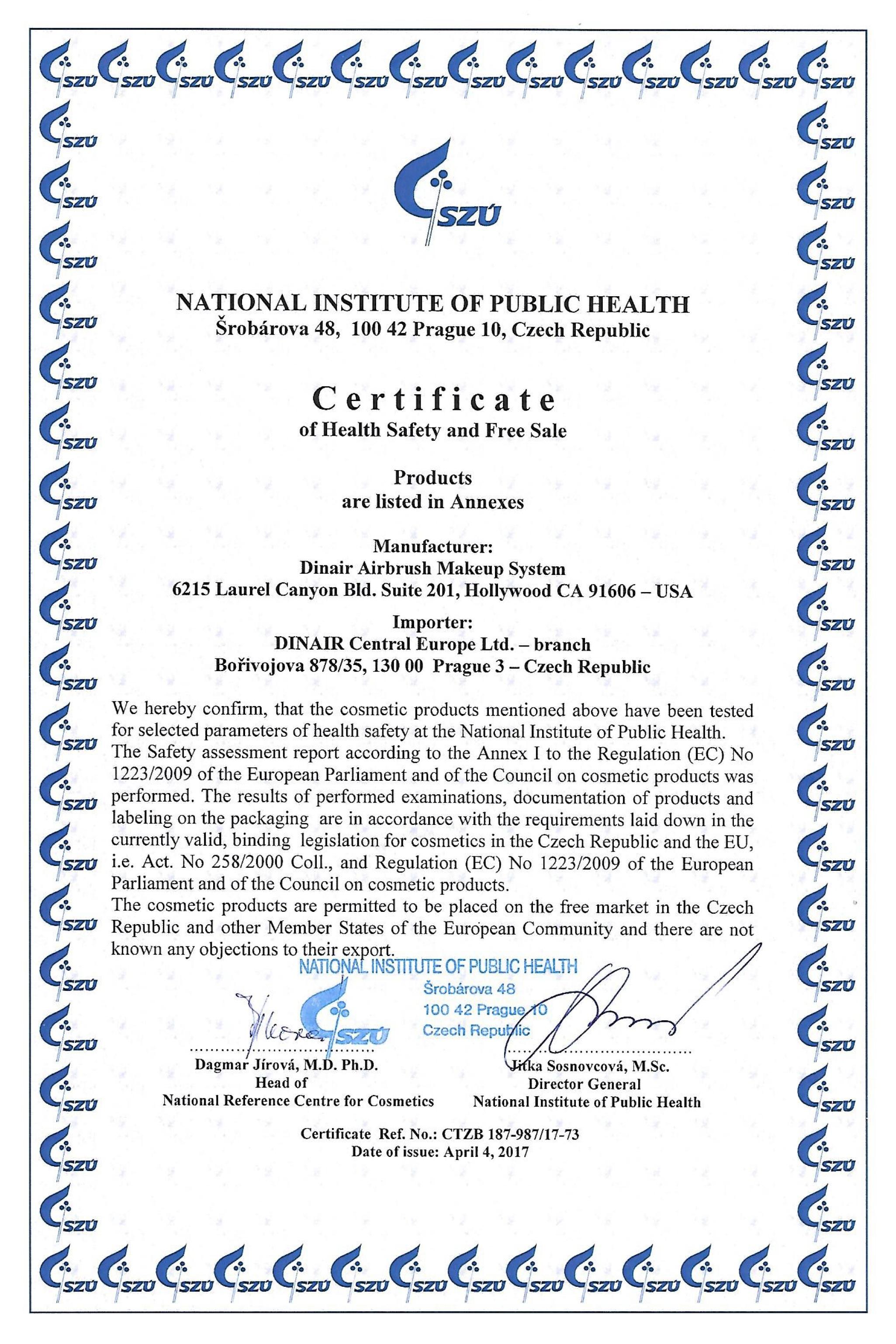 Dinair_CertificateEU-En