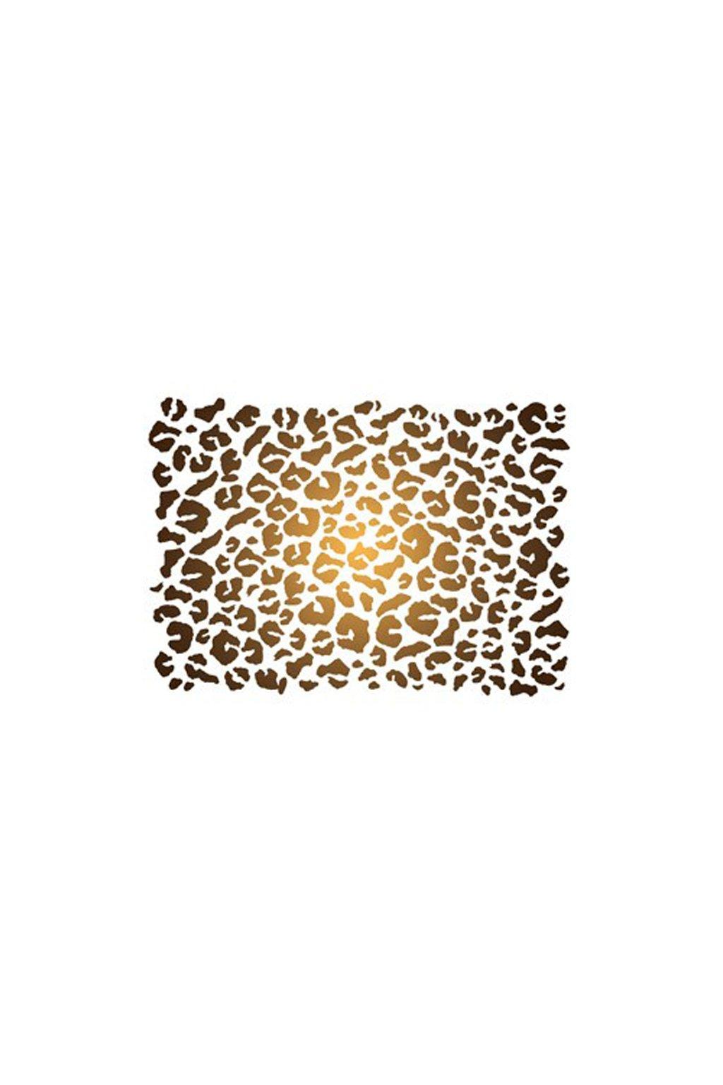 Leopard šablona
