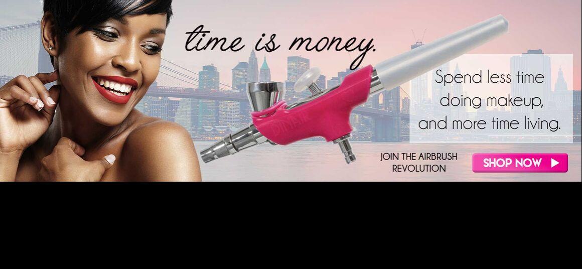 Dinair airbrush make-up šetří čas i peníze