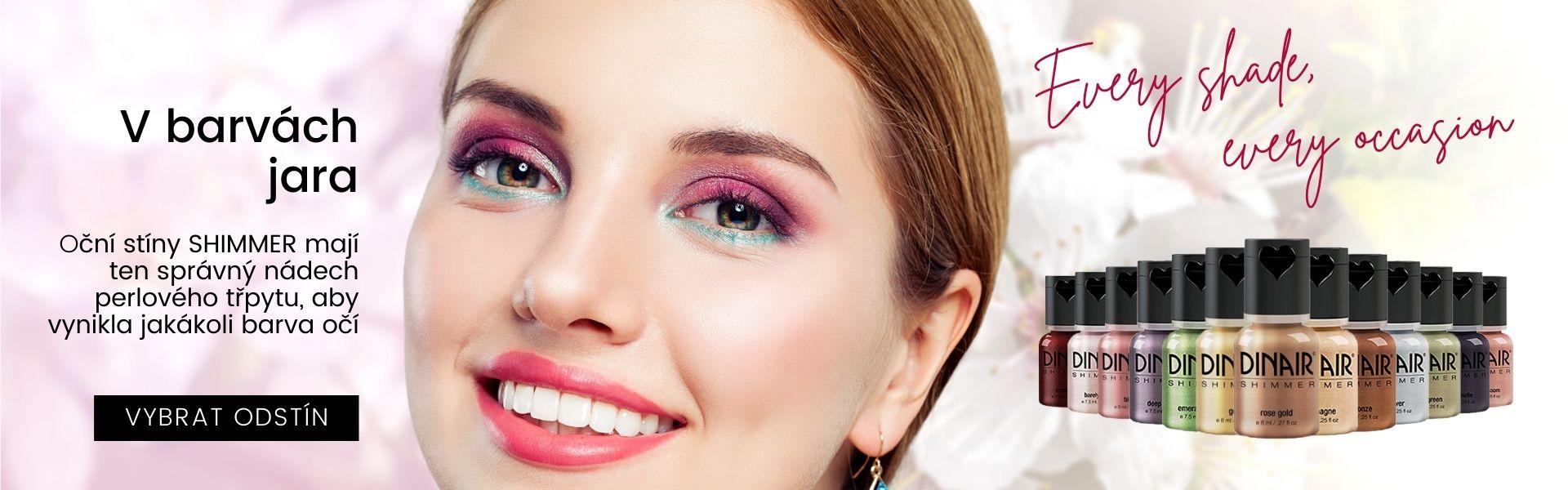 Dinair airbrush oční stíny