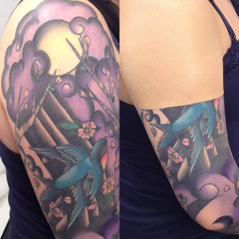 Zakrytí tetování