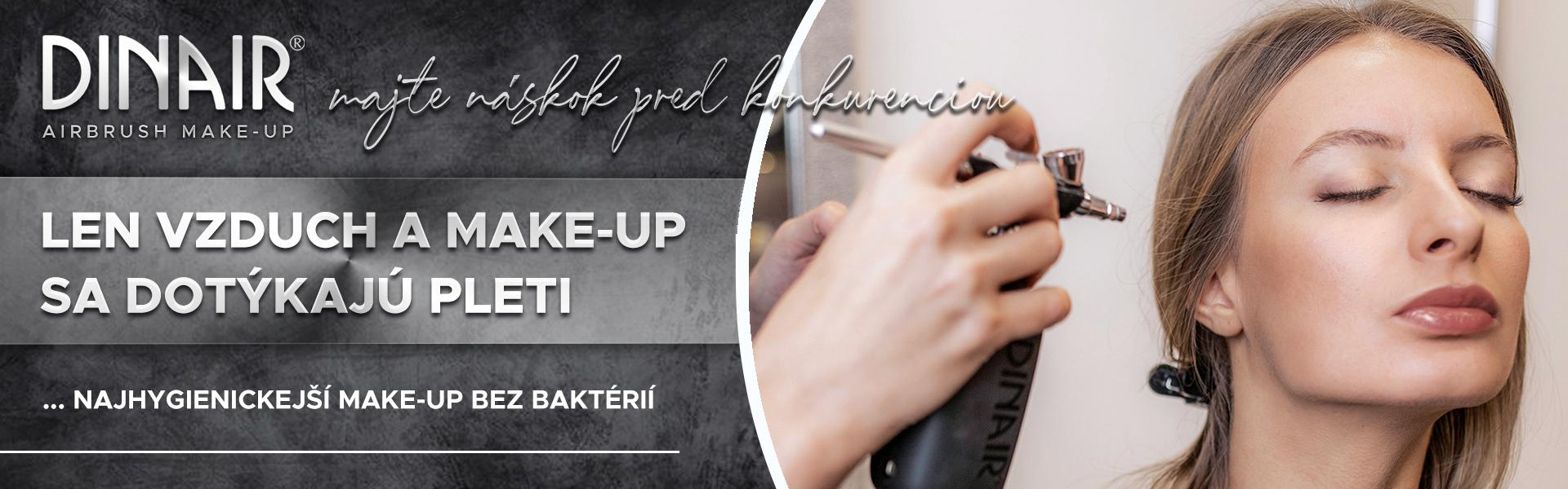 Make-up, ktorý sa dotýka len pokožky