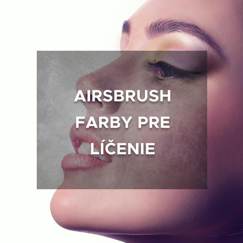 Airbrush farby pre líčenie
