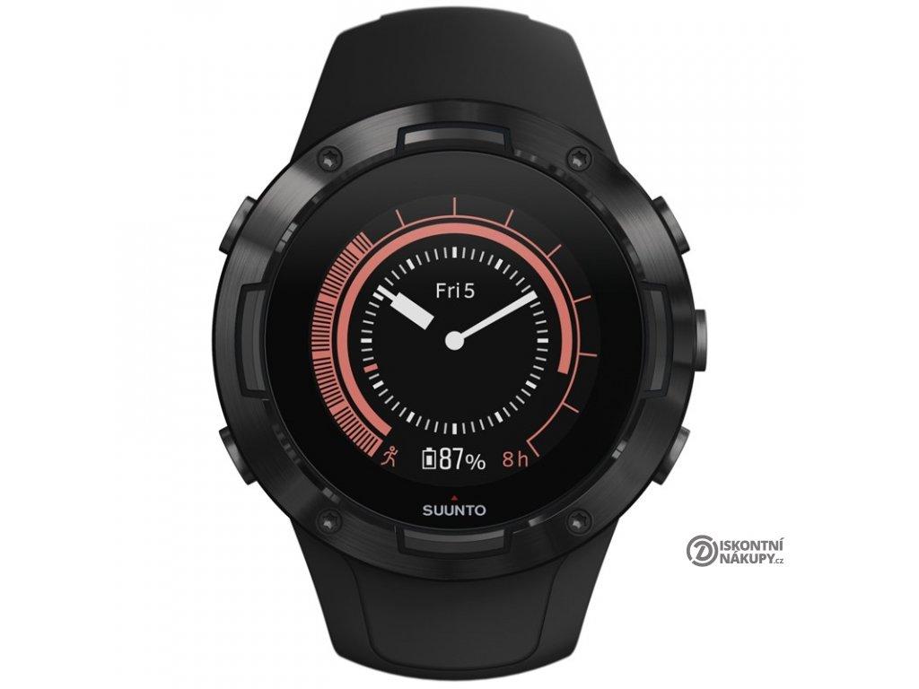 GPS hodinky Suunto 5 - All black  Vráceno ve 14ti denní lhůtě