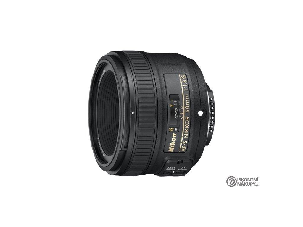 Objektiv Nikon NIKKOR 50 mm f/1.8G AF-S černý  Vráceno ve 14ti denní lhůtě