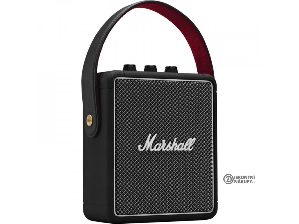 Přenosný reproduktor Marshall Stockwell II černý  Rozbaleno - Vráceno